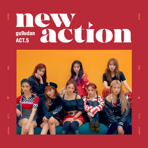 GUGUDAN 3RD MINI ALBUM 'ACT.5 NEW ACTION'