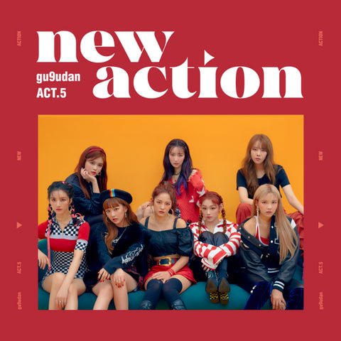 GUGUDAN 3RD MINI ALBUM 'ACT.5 NEW ACTION' + POSTER