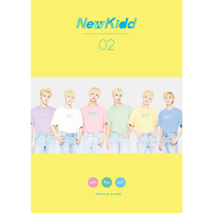 NEWKIDD02 2ND PREVIEW ALBUM 'BOY BOY BOY'