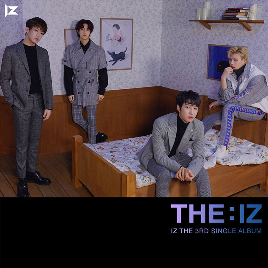 IZ 3RD SINGLE ALBUM 'THE:IZ'