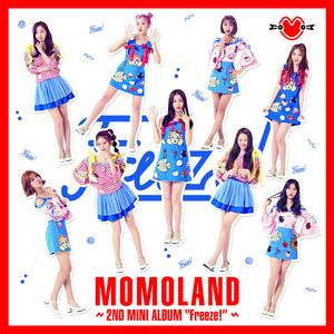 MOMOLAND 2ND MINI ALBUM 'FREEZE!' + POSTER