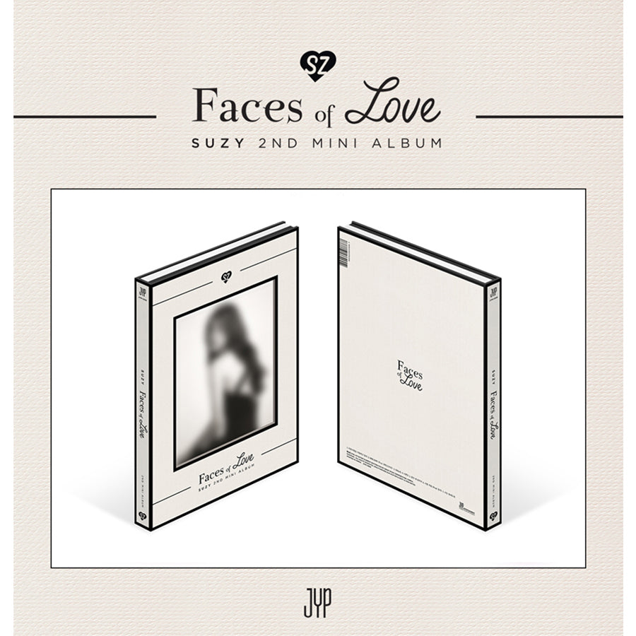 SUZY 2ND MINI ALBUM 'FACES OF LOVE'