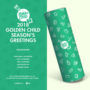 GOLDEN CHILD '2018 SEASON'S GREETINGS'