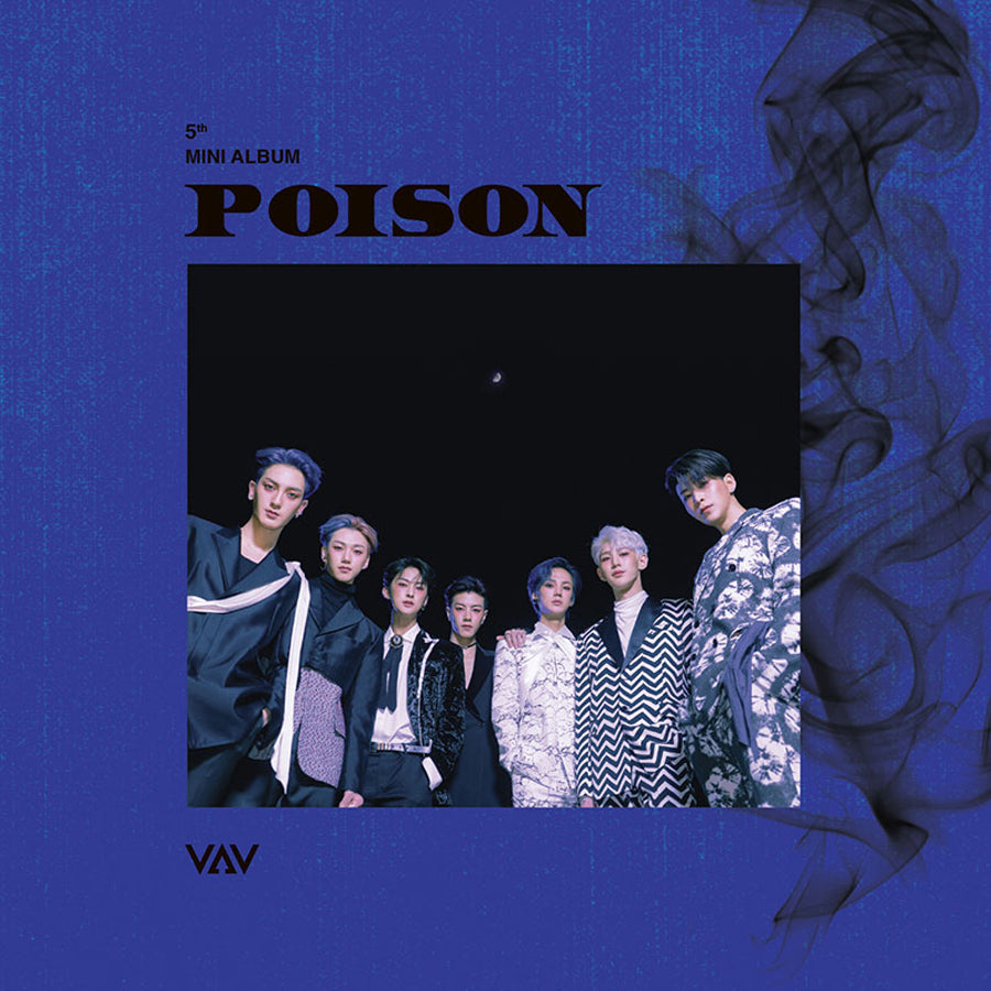 VAV 5TH MINI ALBUM 'POISON'