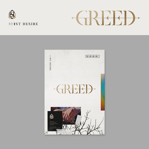 KIM WOO SEOK (UP10TION) 1ST SOLO ALBUM 'GREED' + POSTER