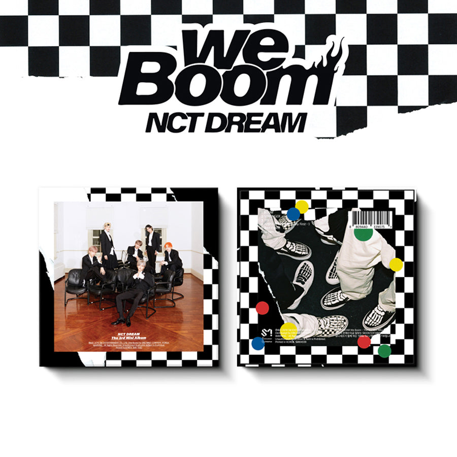 NCT DREAM 3RD MINI KIHNO ALBUM 'WE BOOM'