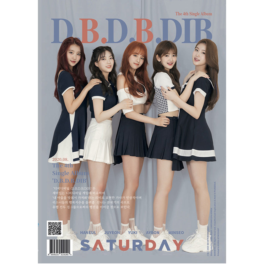 SATURDAY 4TH SINGLE ALBUM 'D.B.D.B.DIP'
