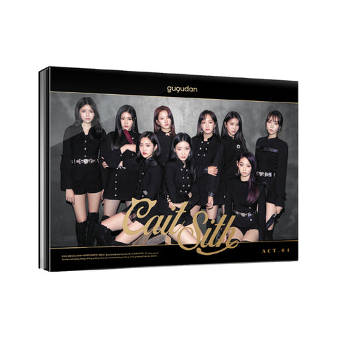 GUGUDAN 2ND SINGLE ALBUM 'CAIT SITH' + POSTER