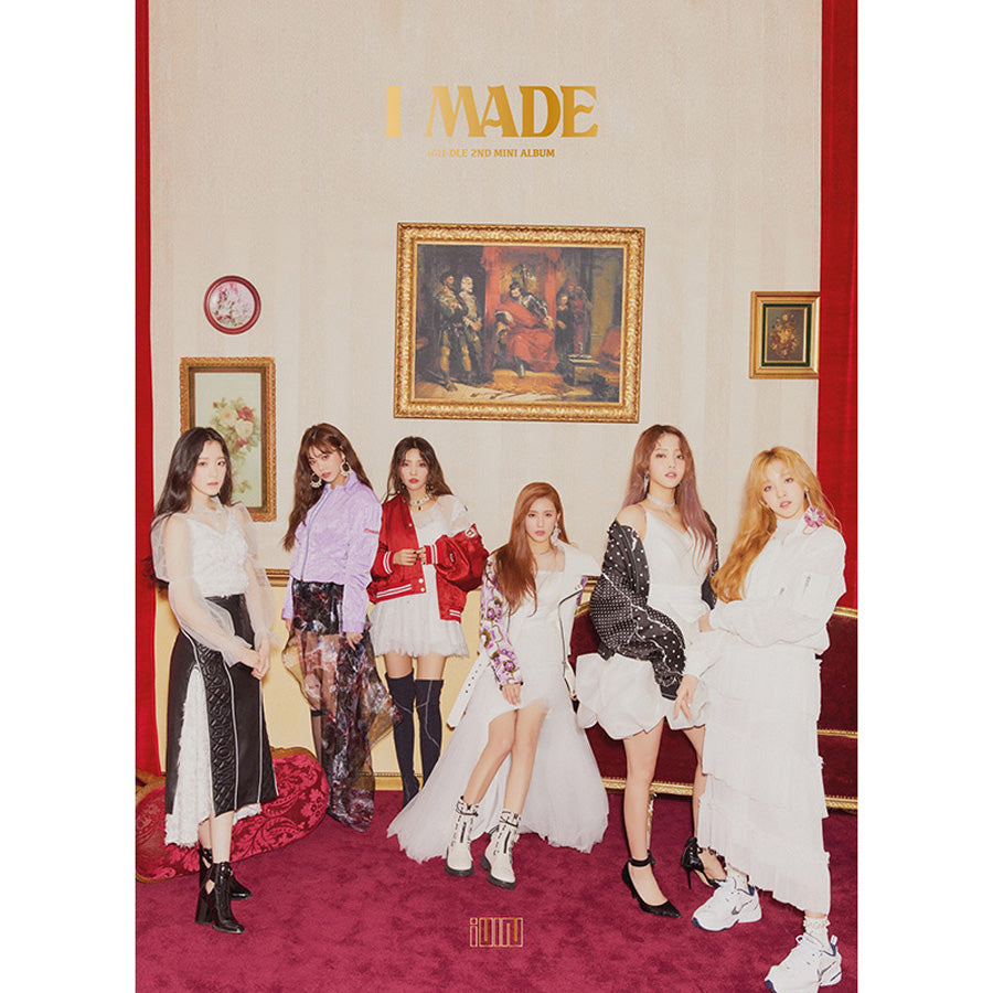 (G)I-DLE 2ND MINI ALBUM 'I MADE'