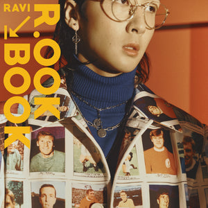 RAVI (VIXX) 2ND MINI ALBUM 'R.OOK BOOK' + POSTER