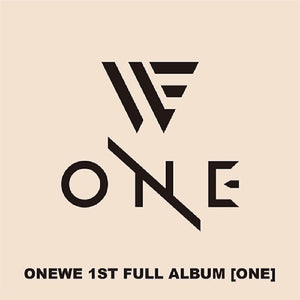 ONEWE 1ST ALBUM 'ONE'