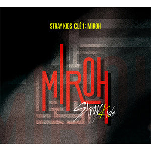 STRAY KIDS MINI ALBUM 'CLE 1 : MIROH' REGULAR VERSION