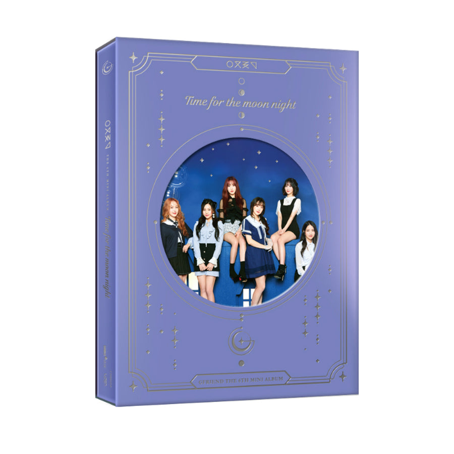 GFRIEND 6TH MINI ALBUM 'TIME FOR THE MOON NIGHT' + POSTER