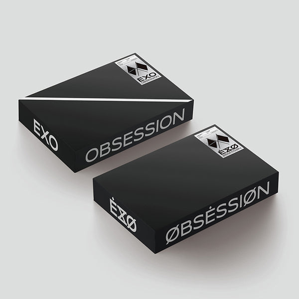 EXO 6TH ALBUM 'OBSESSION' + POSTER