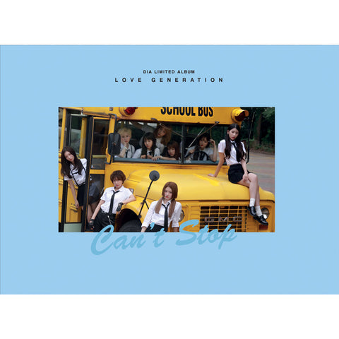 DIA 3RD MINI ALBUM 'LOVE GENERATION'