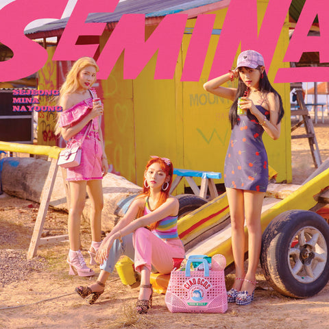 GUGUDAN SEMINA SINGLE ALBUM 'SEMINA' + POSTER