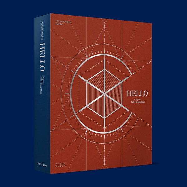 CIX 2ND MINI ALBUM 'HELLO CHAPTER 2. HELLO, STRANGE PLACE'