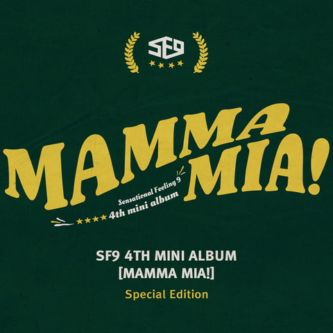 SF9 4TH MINI ALBUM 'MAMMA MIA!' SPECIAL EDITION + POSTER