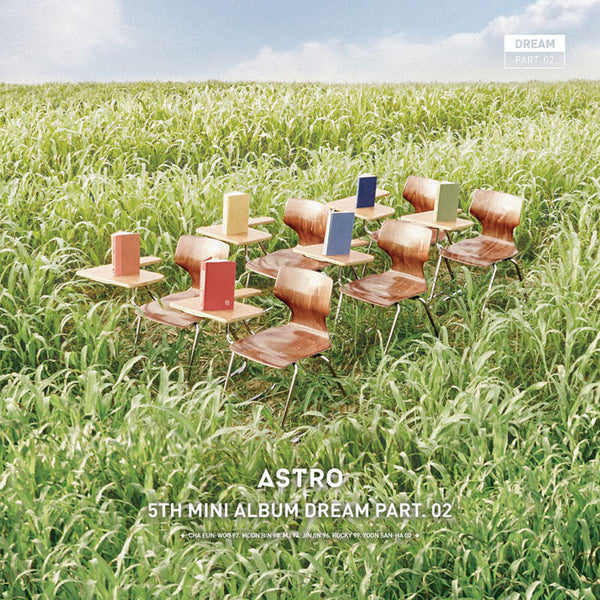ASTRO 5TH MINI ALBUM 'DREAM PART.02' + POSTER