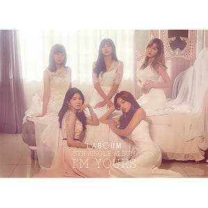 LABOUM 6TH SINGLE 'I'M YOURS' + POSTER