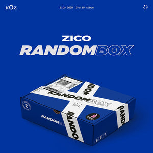 ZICO 3RD MINI ALBUM 'RANDOM BOX'