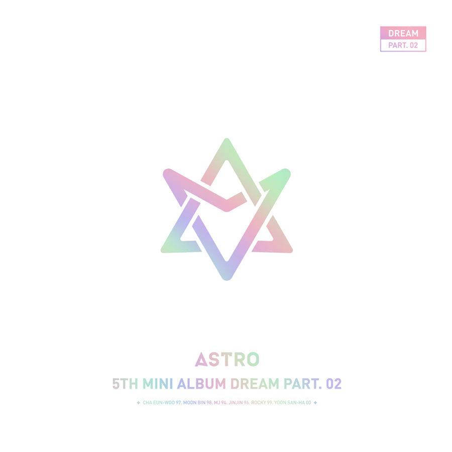 ASTRO 5TH MINI ALBUM 'DREAM PART.02' LIMITED EDITION + POSTER