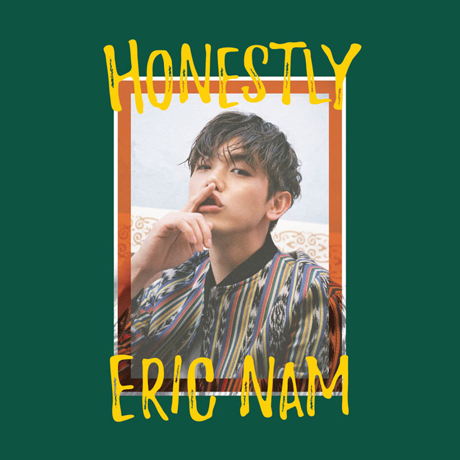 ERIC NAM 3RD MINI ALBUM 'HONESTLY' + POSTER