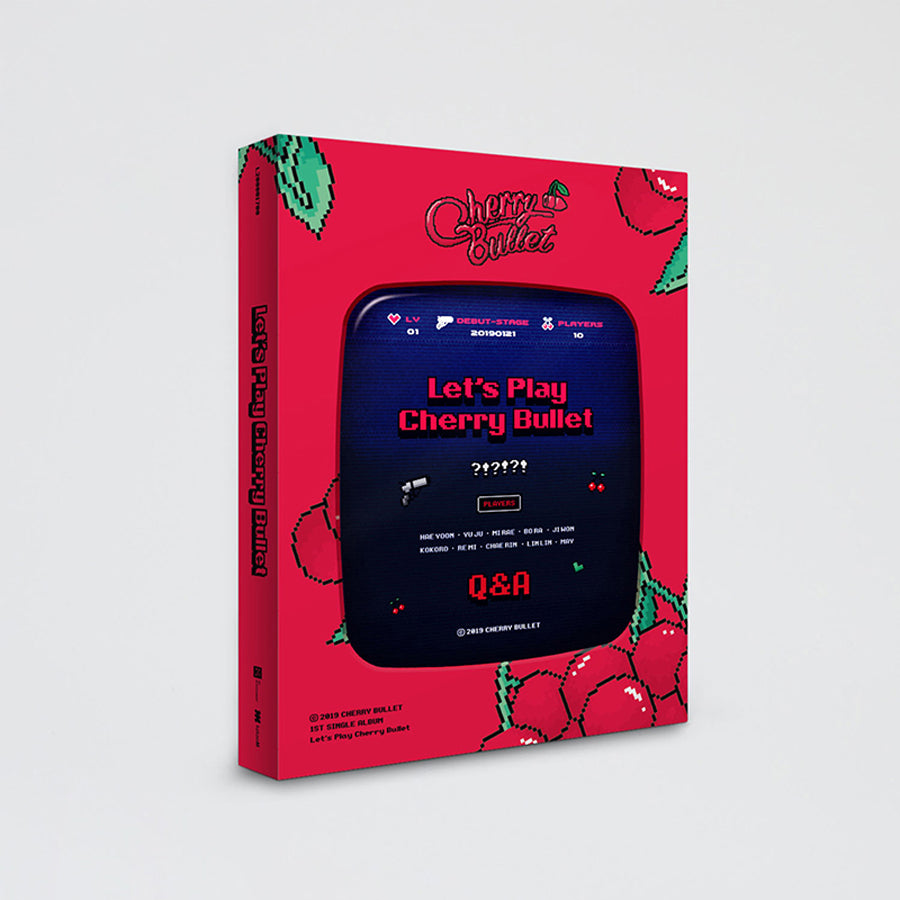 CHERRY BULLET 1ST SINGLE ALBUM 'LET'S PLAY CHERRY BULLET'