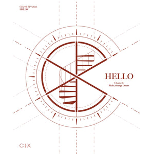 CIX 4TH EP ALBUM 'HELLO CHAPTER Ø. HELLO, STRANGE DREAM' + POSTER