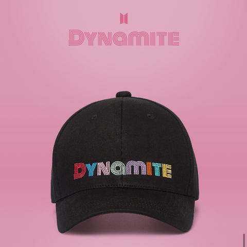 BTS OFFICIAL 'DYNAMITE BALL CAP'