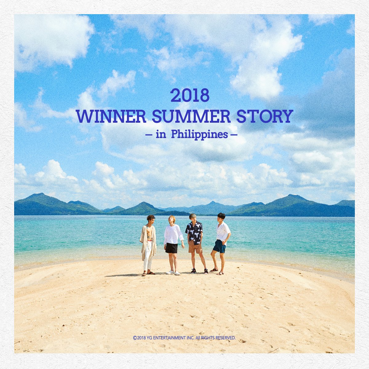 WINNER '2018 WINNER'S SUMMER STORY IN PHILIPPINES'