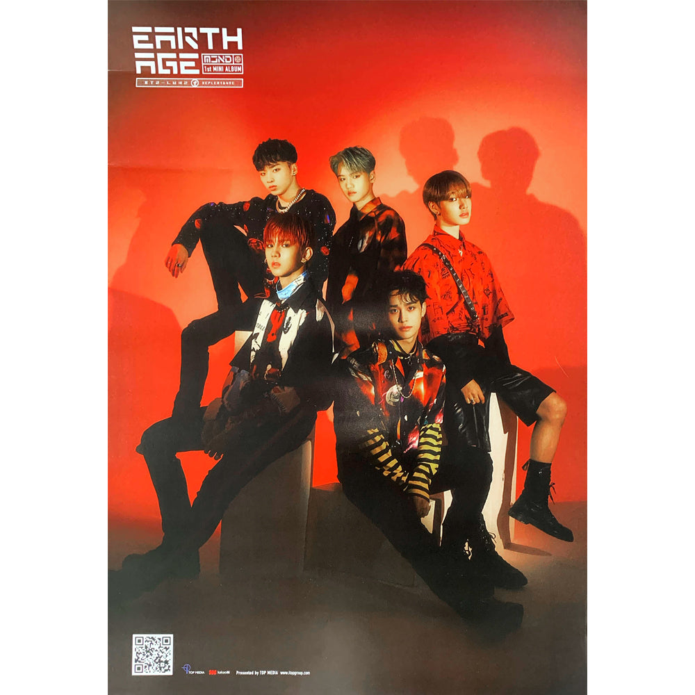 MCND 1ST MINI ALBUM 'EARTH AGE' POSTER ONLY