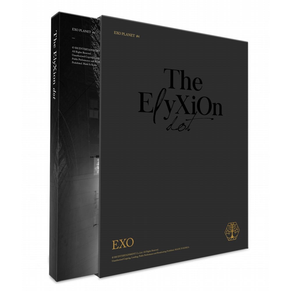 EXO 'EXO PLANET #4 -The EℓyXiOn[dot]' CONCERT PHOTO BOOK & LIVE CD