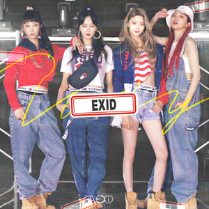 EXID SINGLE ALBUM 'LET'S DO IT TOMORROW' + POSTER