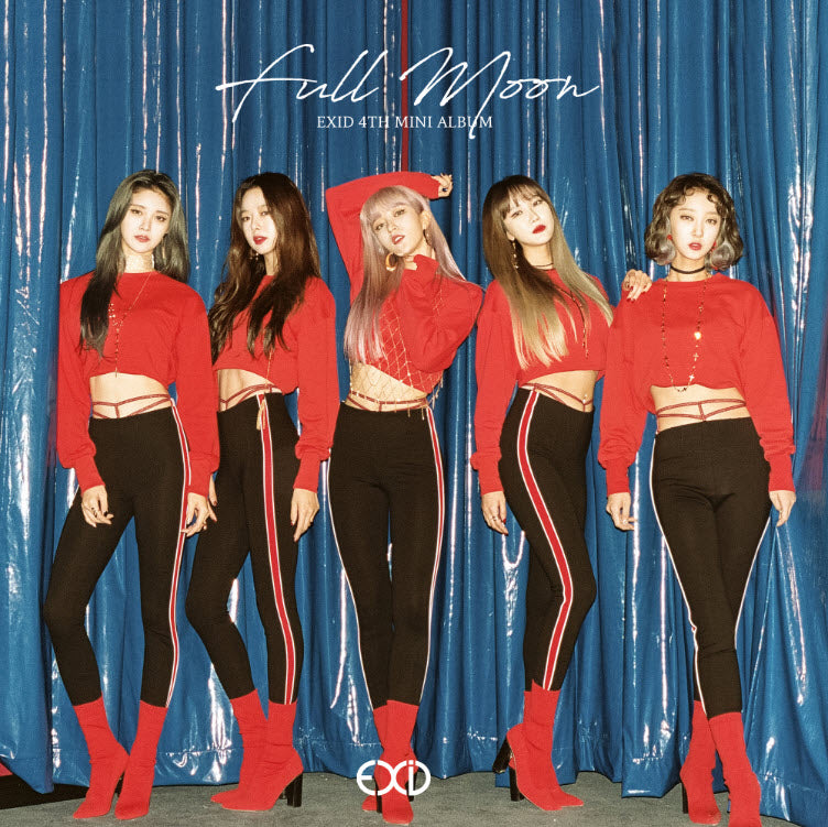 EXID 4TH MINI ALBUM 'FULL MOON' + POSTER