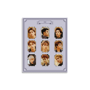 EXO OFFICIAL PHOTO METAL BADGE SET