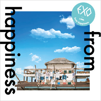 EXO 'FROM HAPPINESS' LIMITED EDITION DVD