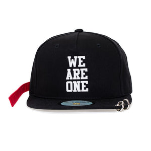 EXO 'WE ARE ONE SNAPBACK HAT WITH LONG STRAP & RINGS'