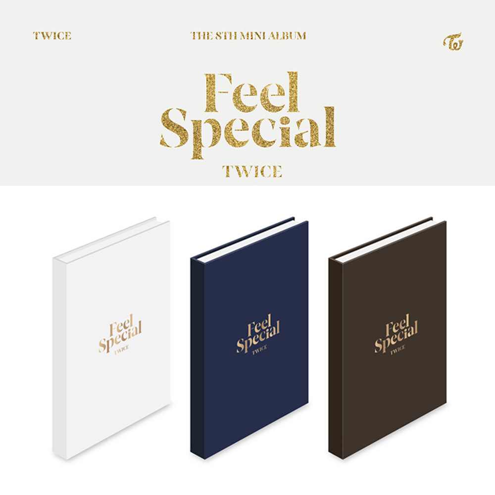 TWICE 8TH MINI ALBUM 'FEEL SPECIAL'