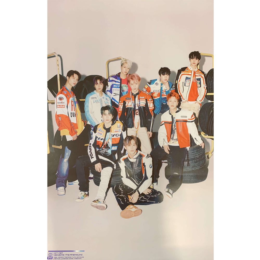 NCT 127 2ND ALBUM REPACKAGE 'NCT #127 NEO ZONE : THE FINAL ROUND' KIHNO POSTER ONLY