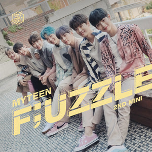 MYTEEN 2ND MINI ALBUM 'F;UZZLE' + POSTER