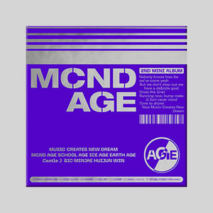 MCND 2ND MINI ALBUM 'MCND AGE' + POSTER