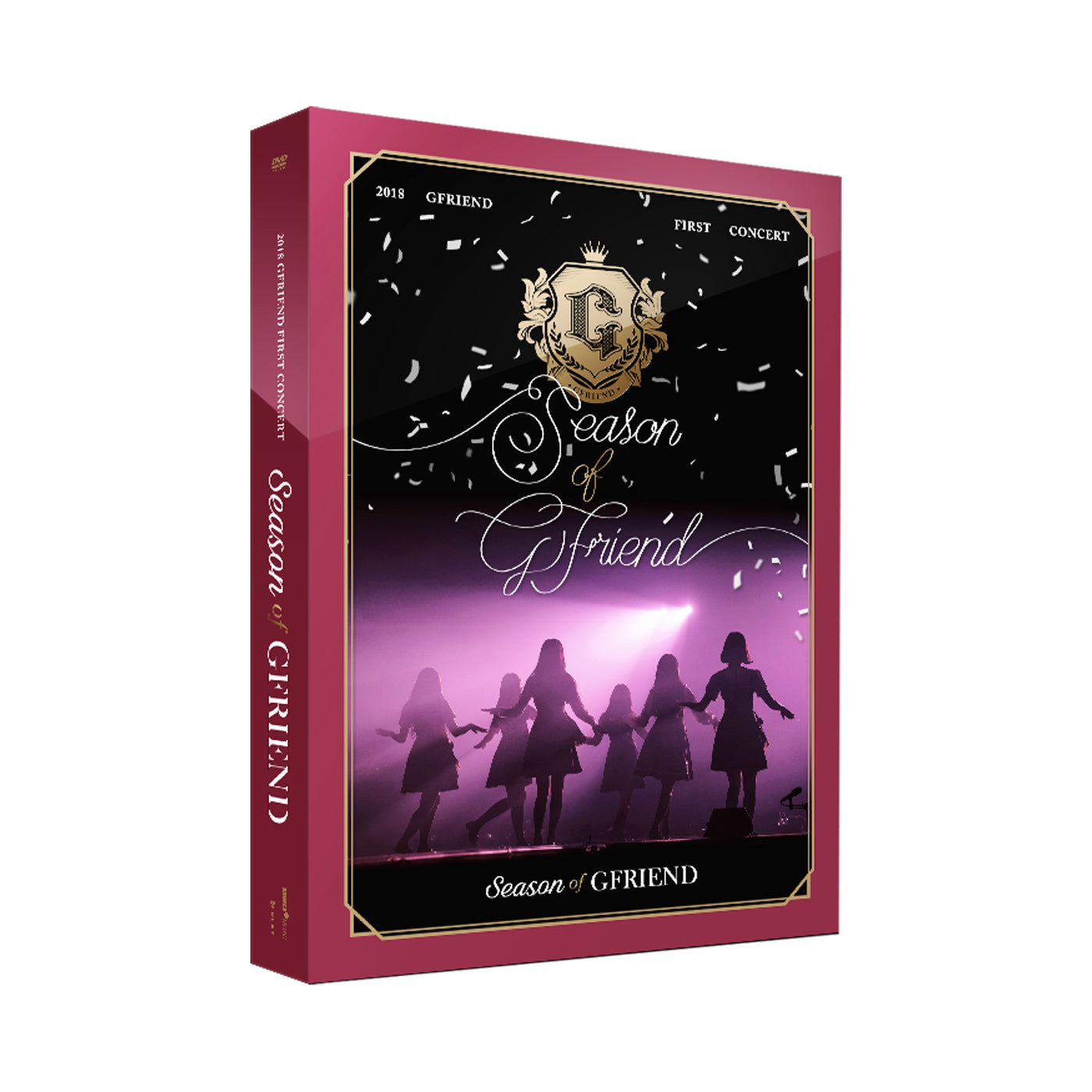 GFRIEND '2018 FIRST CONCERT SEASON OF GFRIEND' DVD