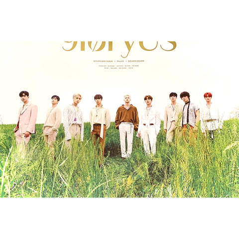 SF9 8TH MINI ALBUM '9LORYUS' POSTER ONLY