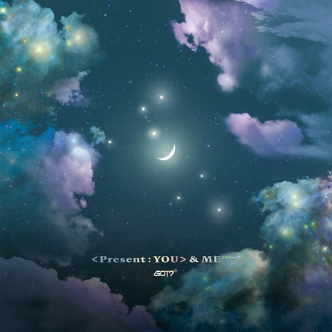GOT7 3RD ALBUM REPACKAGE 'PRESENT : YOU & ME EDITION' + POSTER