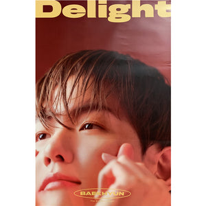 BAEK HYUN (EXO) 2ND MINI ALBUM 'DELIGHT' POSTER ONLY