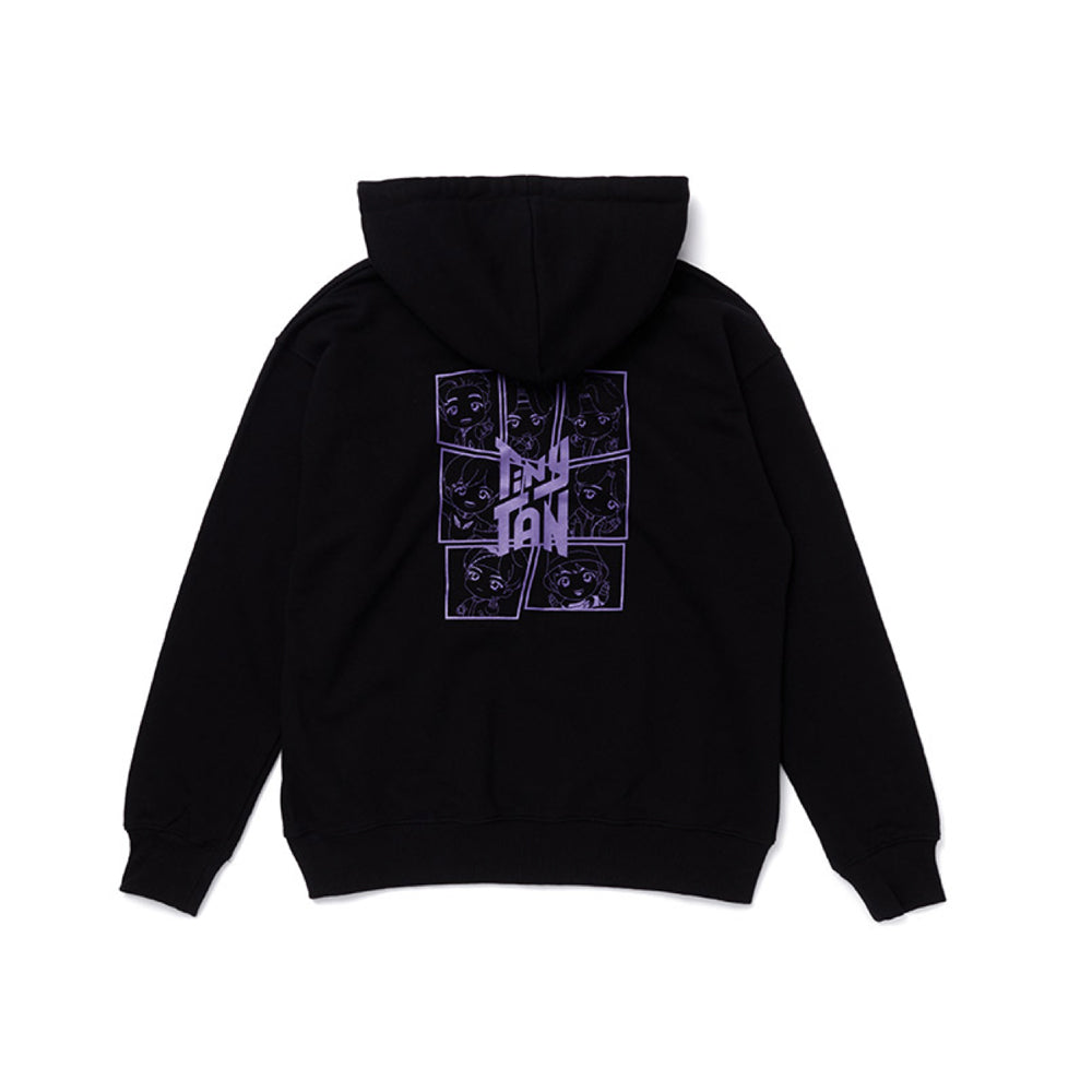 BTS OFFICIAL TINYTAN ZIP-UP HOODIE