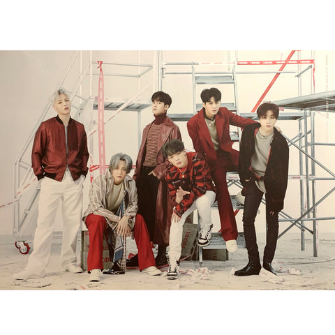 iKON 3RD MINI ALBUM 'i DECIDE' POSTER ONLY