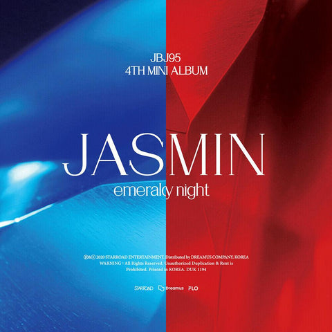 JBJ95 4TH MINI ALBUM 'JASMIN'