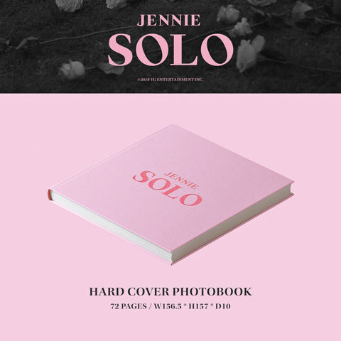 JENNIE (BLACKPINK) 'SOLO' PHOTO BOOK